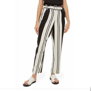 Top shop Dolly Pants- tapered striped trousers